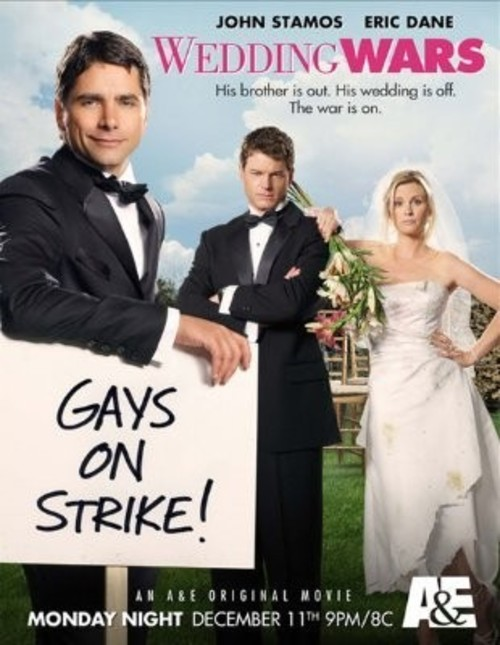Gay people across the U.S. go on strike when a governor refuses to approve  of gay marriages.